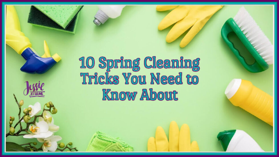 10 Spring Cleaning Tricks You Need to Know About on Jessie At Home - Social