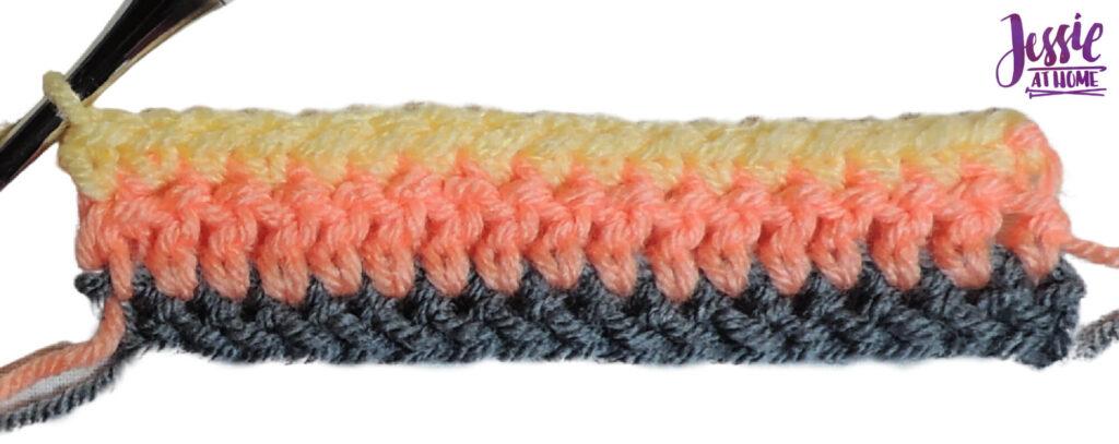 Alpine Stitch Row 3