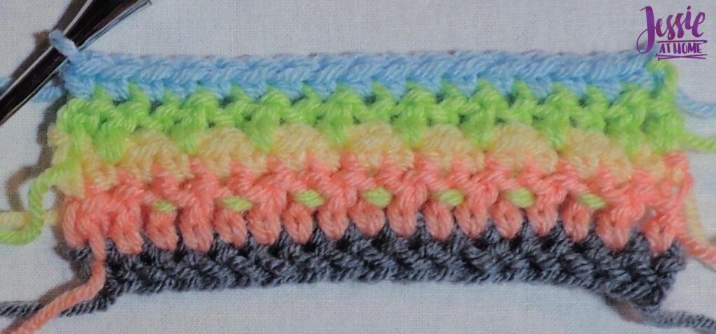 Alpine Stitch Row 5