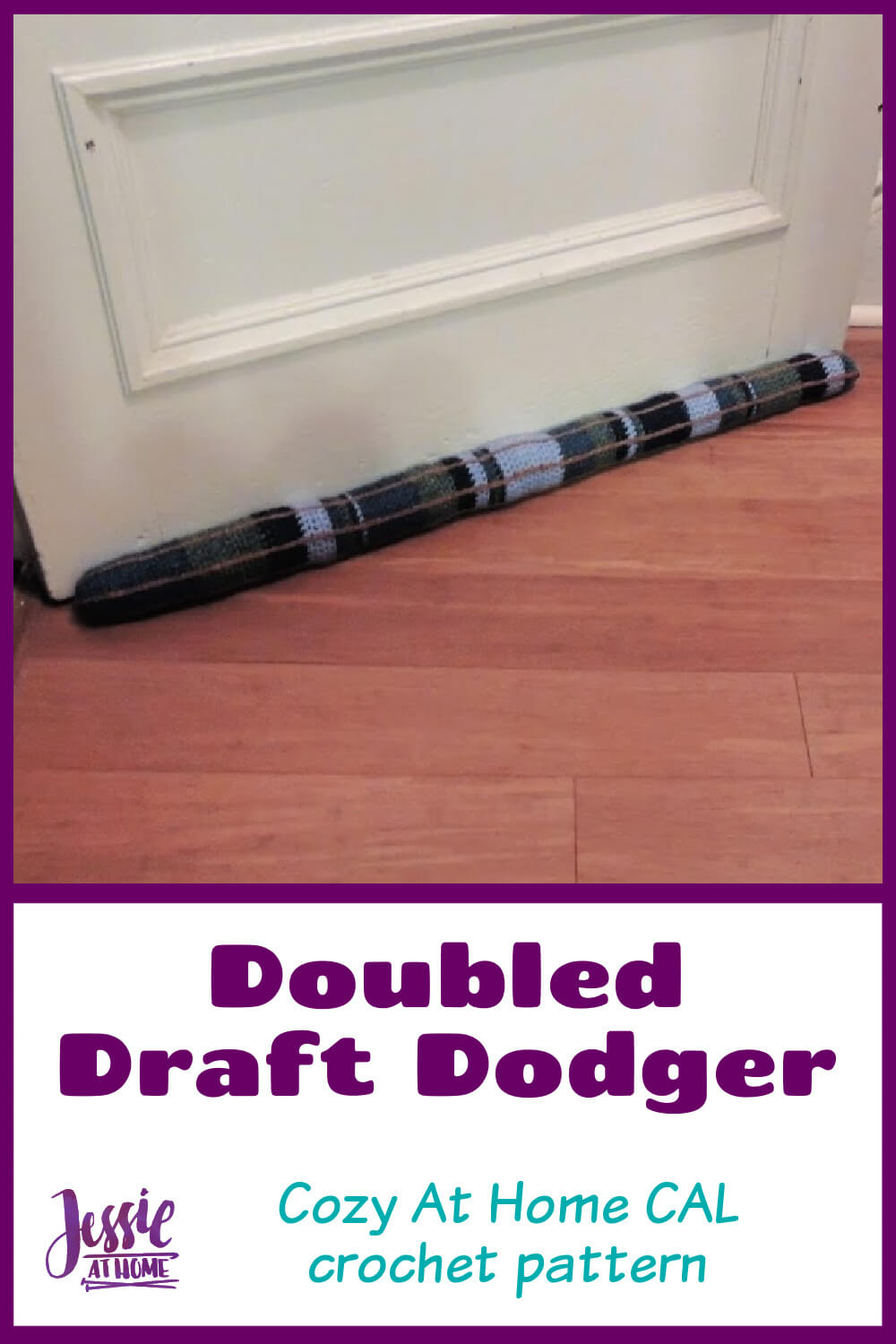 Doubled Draft Dodger - Stay Warm and Cozy At Home