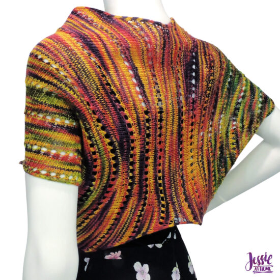 Faylinn - Fairy Wing Scarf Knit Pattern by Jessie At Home - 6