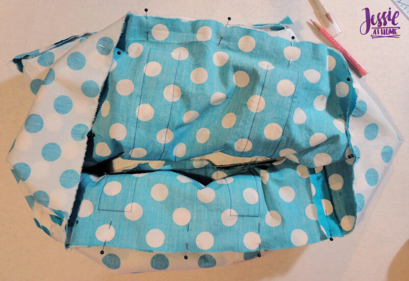 Pin Main and Lining Together