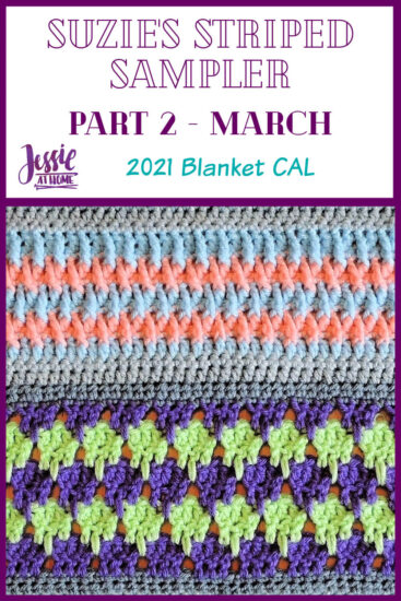 Suzie's Striped Sampler Part 2 by Jessie At Home - Pin 1