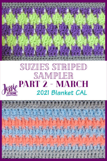 Suzie's Striped Sampler Part 2 by Jessie At Home - Pin 3