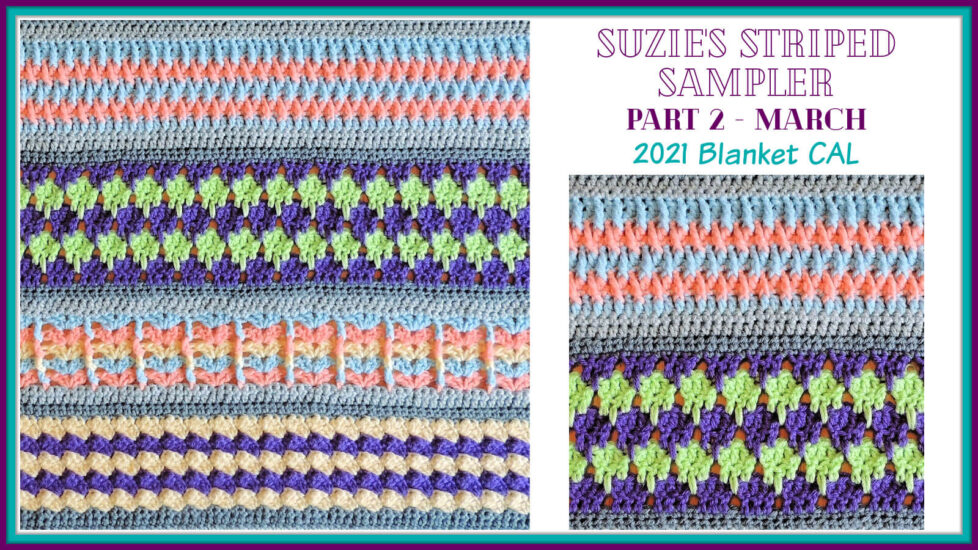 Suzie's Striped Sampler Part 2 by Jessie At Home - Social