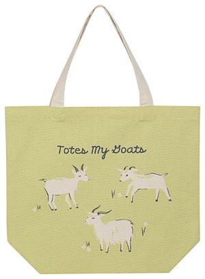 WeCrochet Goats Tote Bag
