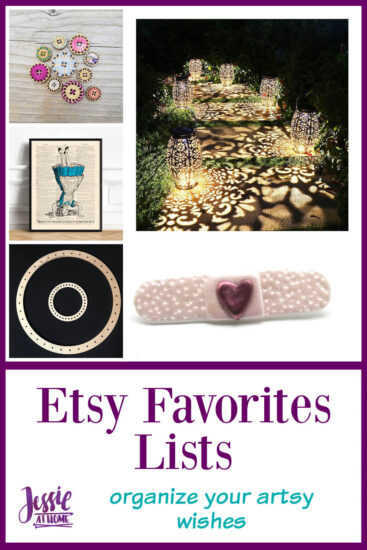 Etsy Favorites Lists with Jessie At Home - Pin 2