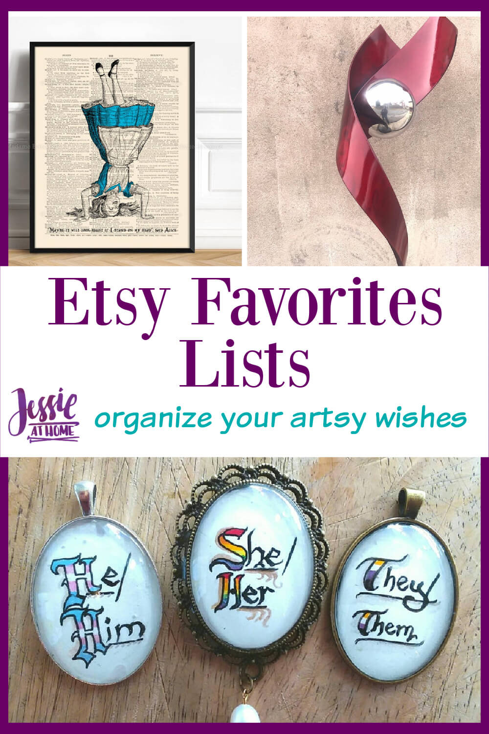 Etsy Favorites Lists - organize your artsy wishes