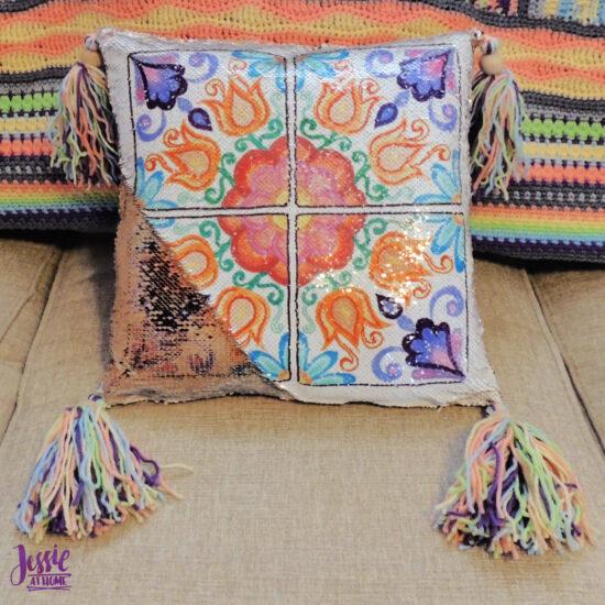 Flower Window Pillow