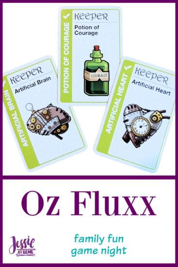 Oz Fluxx - family game night fun - Jessie At Home - Pin 2