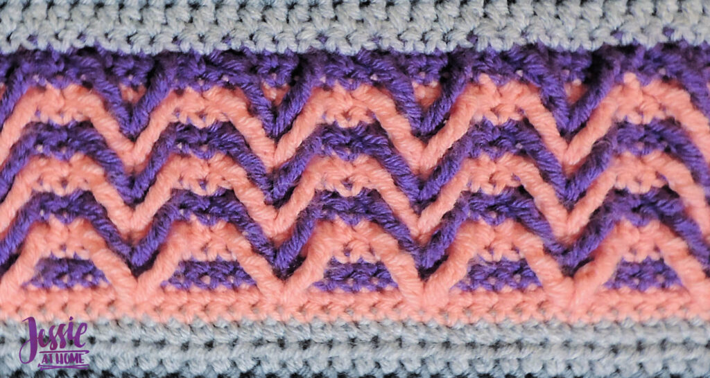 Suzie's Striped Sampler Section 6