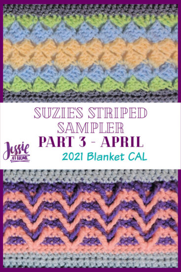 Suzie's Striped Sampler Part 3 by Jessie At Home - Pin 3