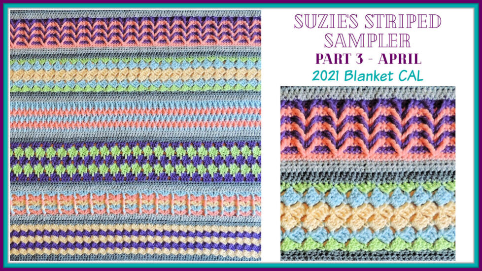 Suzie's Striped Sampler Part 3 by Jessie At Home - Social