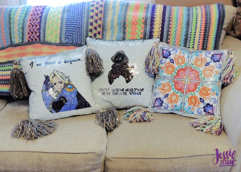 Three Awesome Pillows