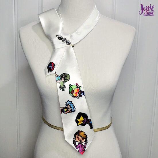 Fan Girl Tie Half Bow Side