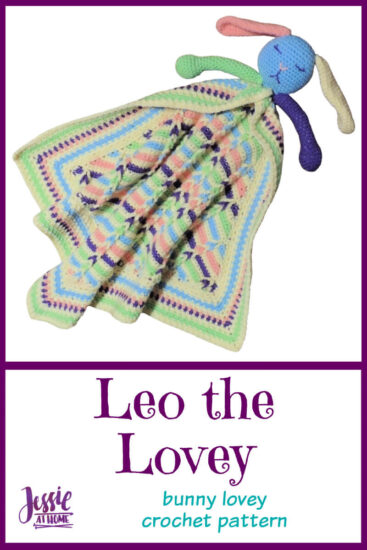 Leo the Lovey bunny lovey crochet pattern by Jessie At Home - Pin 2