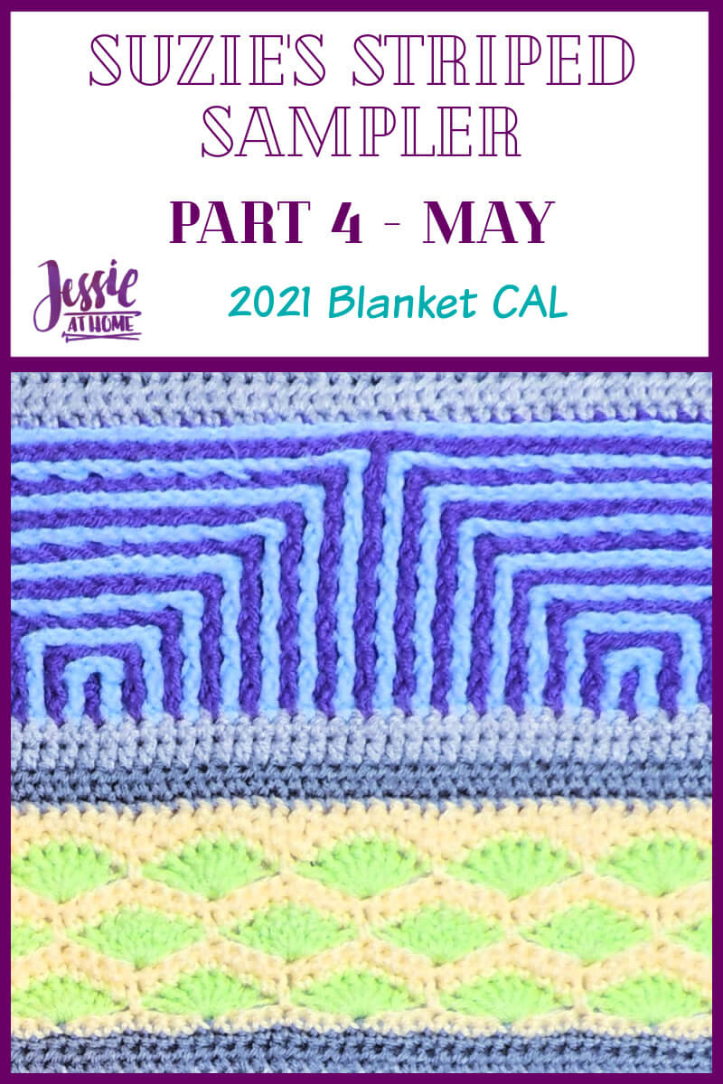Suzie's Striped Sampler Part 4 by Jessie At Home - Pin 1