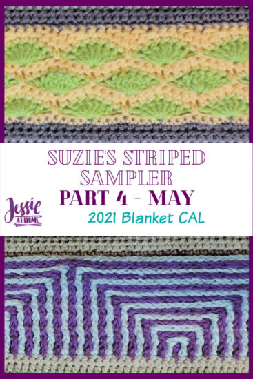 Suzie's Striped Sampler Part 4 by Jessie At Home - Pin 3
