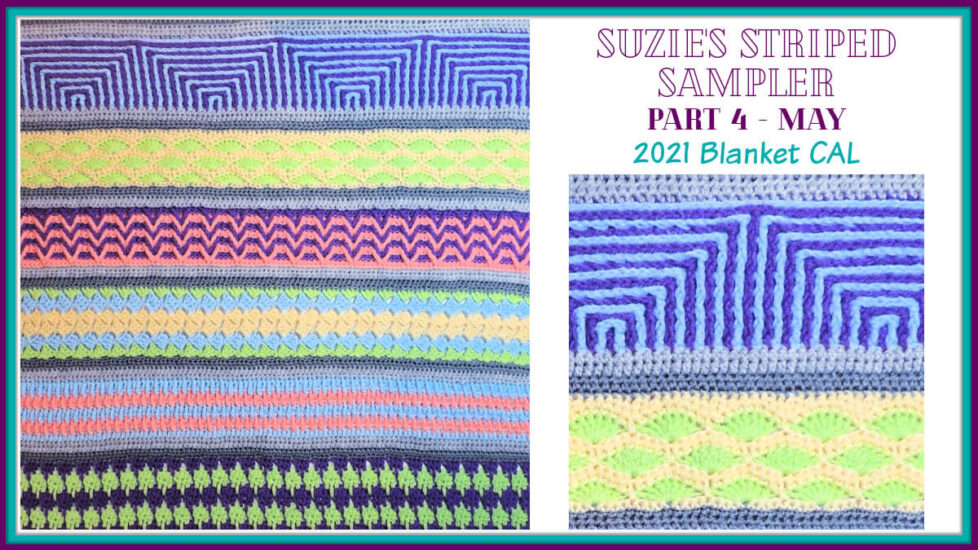 Suzie's Striped Sampler Part 4 by Jessie At Home - Social