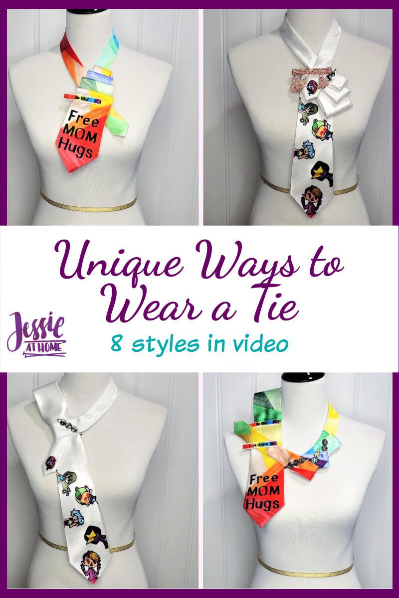 8 Unique Ways to Wear a Tie - with helpful videos!