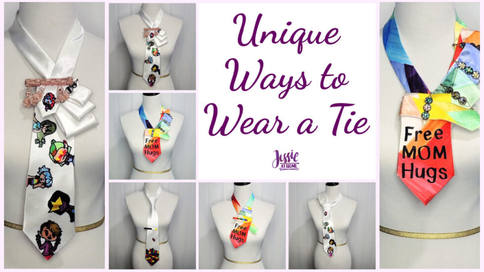Unique Ways to Wear a Tie by Jessie At Home - Social