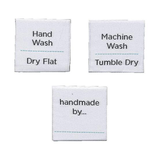 WeCrochet Instruction Labels