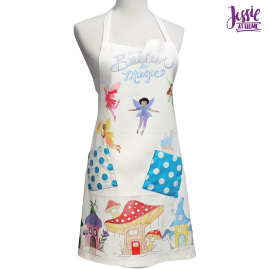 Believe in Magic Artesprix Apron with Pockets