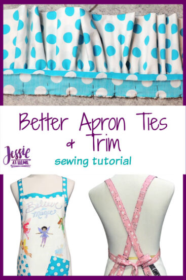 Better Apron Ties and Trim sewing tutorial by Jessie At Home - Pin 3