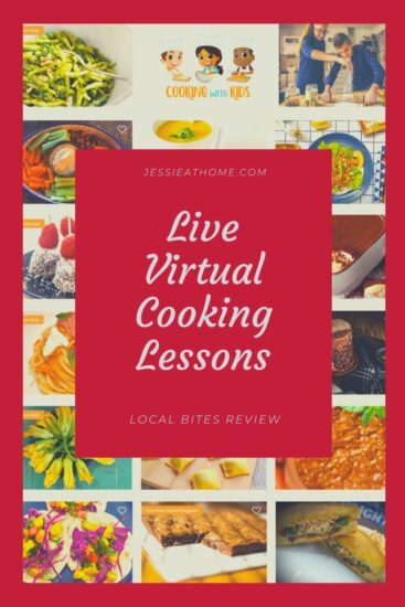 Live Virtual Cooking Lessons From Around the World - Local Bites Review by Jessie At Home - Pin 3