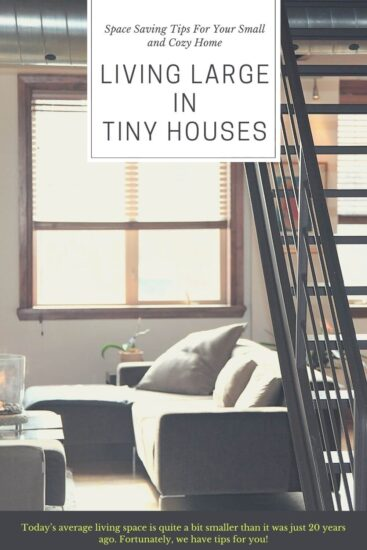 Living Large In Tiny Houses - Guest Post on Jessie At Home - Pin 1