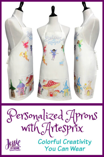 Personalized Aprons with Artesprix by Jessie At Home - Pin 2
