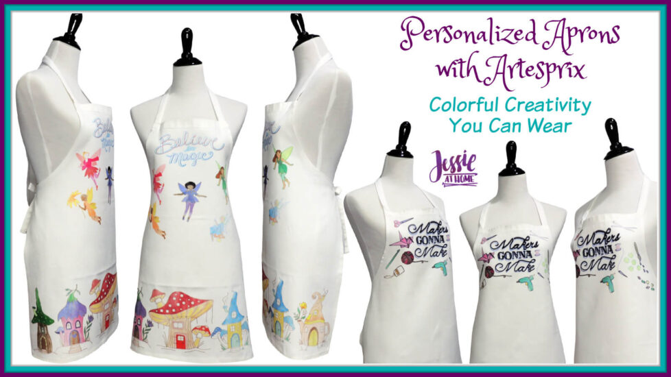 Personalized Aprons with Artesprix by Jessie At Home - Social