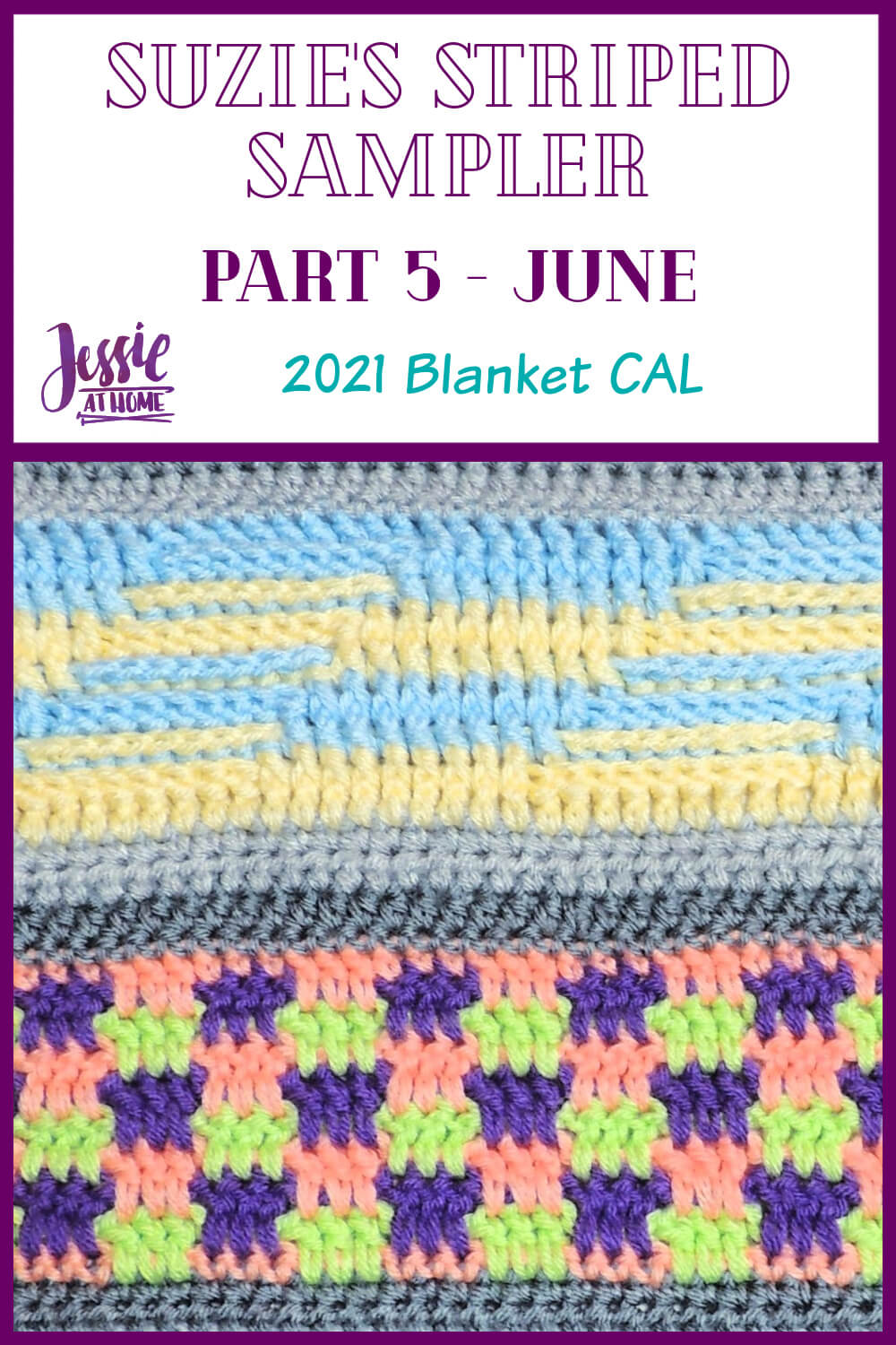 Suzie's Striped Sampler Part 5 by Jessie At Home - Feature