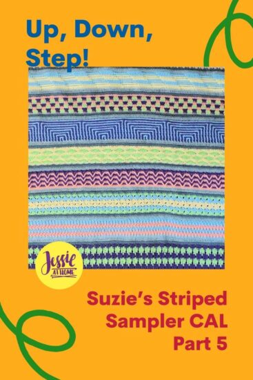 Up, Down, Step! Suzie's Striped Sampler CAL Part 5 by Jessie At Home - Pin 2