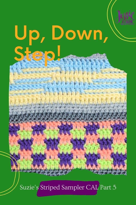 Up, Down, Step! Suzie's Striped Sampler Part 5