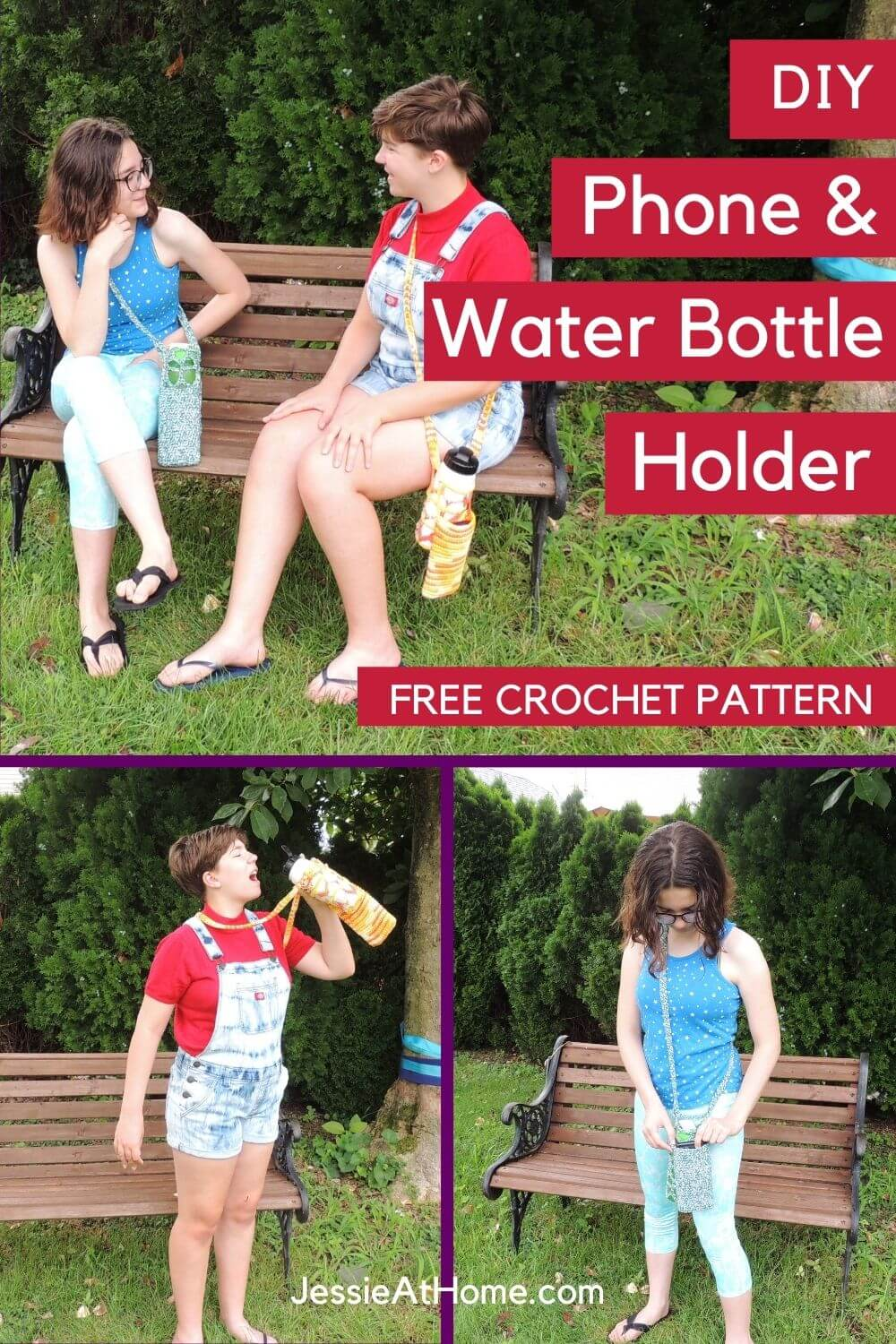 Call Me Hydrated - Sensational Water Bottle and Phone Holder