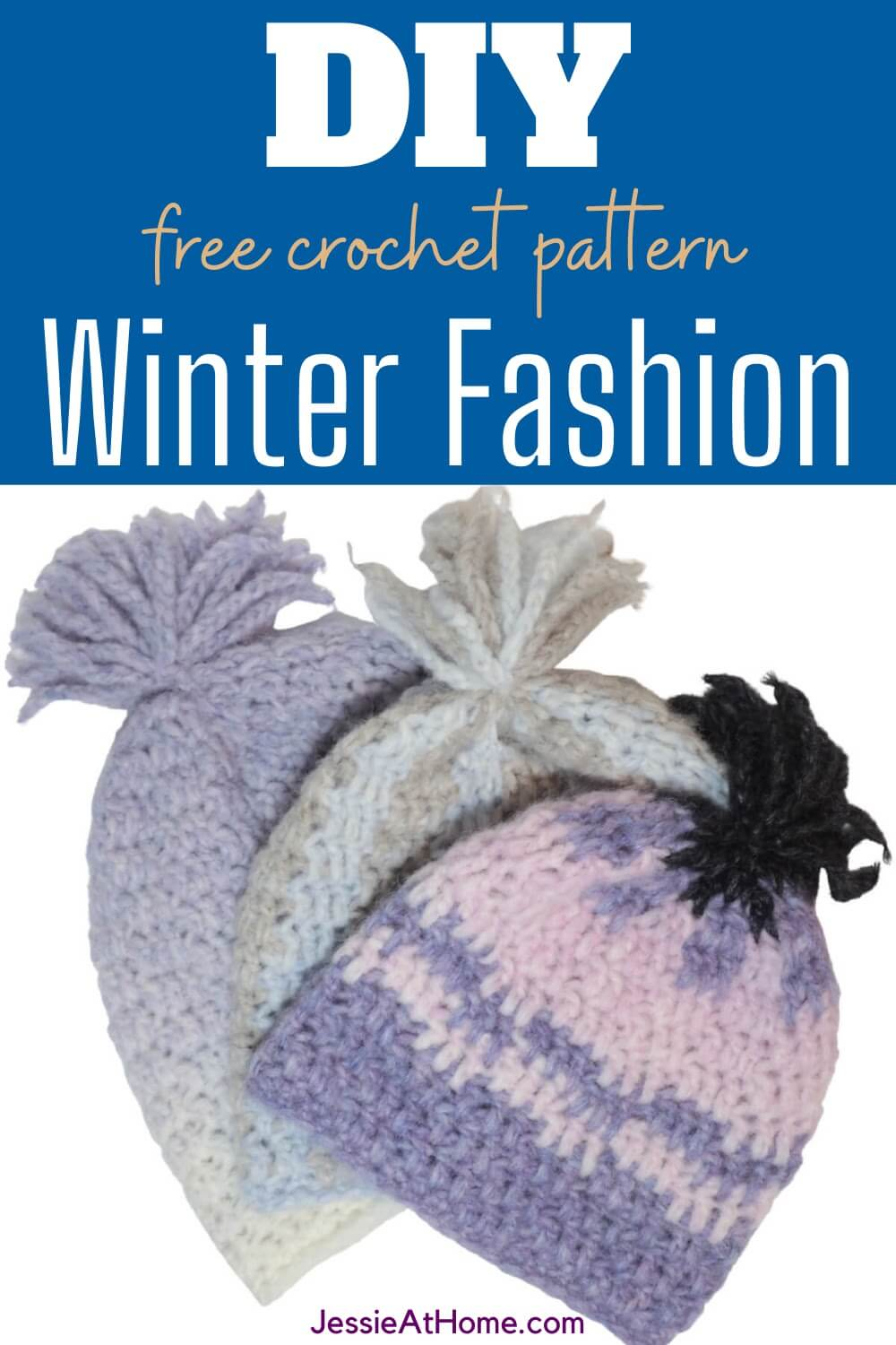 Fluffy Hat Easy Free Crochet Pattern – Make an Awesome Gift